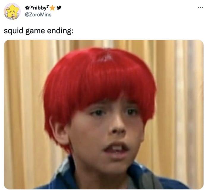 Squid Game Memes - red hair