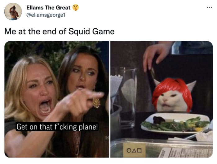 Squid Game Memes - end of the game