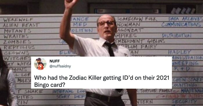 Zodiac Killer Tweets