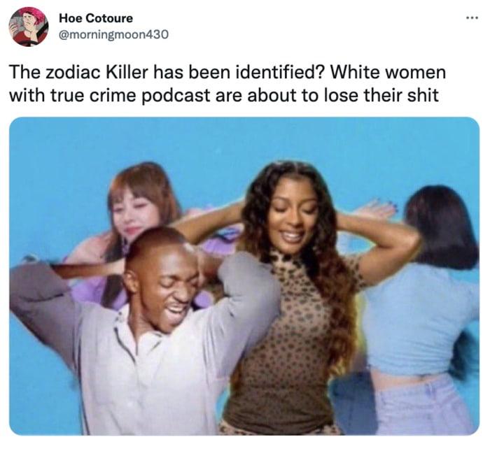 Zodiac Killer Tweets - true crime podcasts